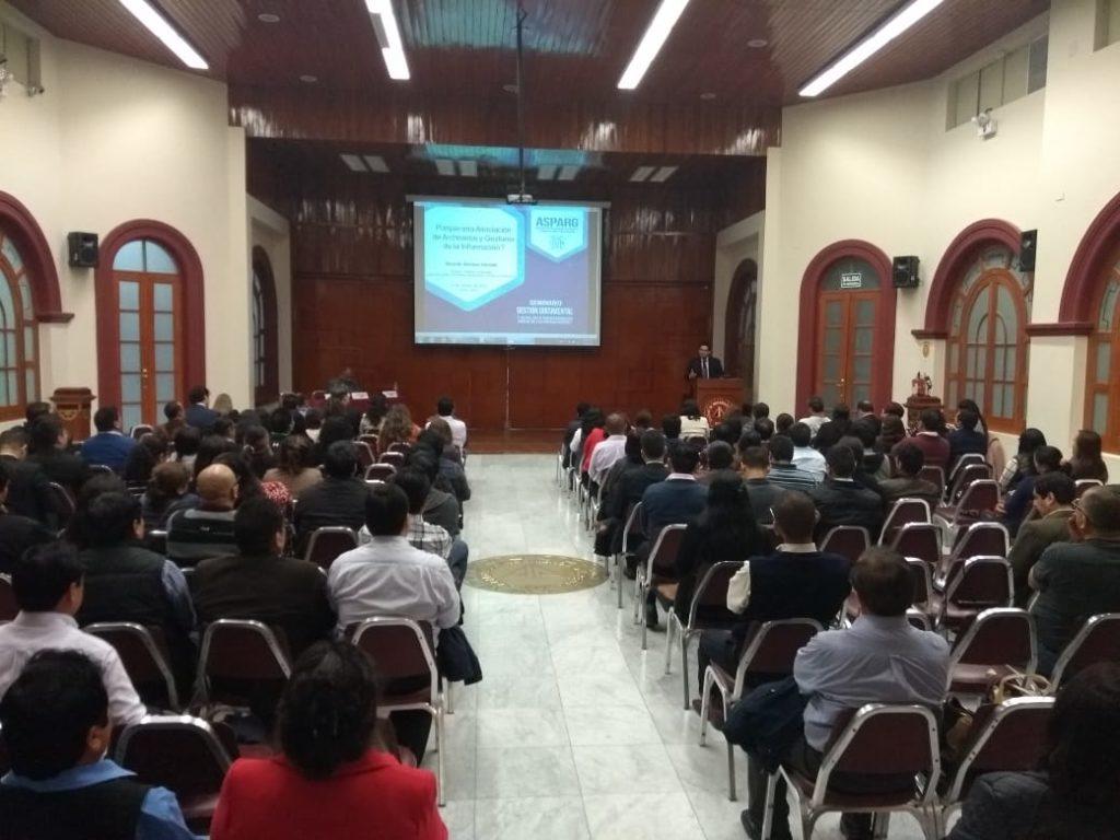 Seminario: La Gestión Documental y su rol en la Transformación Digital de las Organizaciones